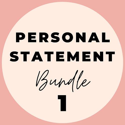 Personal Statement Bundle 1 (30 mins of coaching)