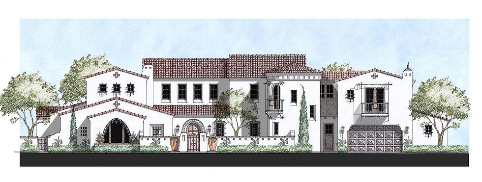 Lot 49 Santa Barbara elevation Color cop