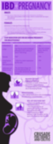 Pregnancy & IBD Infographic