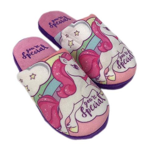 disponibile metà prezzo scarpe esclusive Pantofole invernali Unicorno ciabatte peluche bambina e ragazza ...