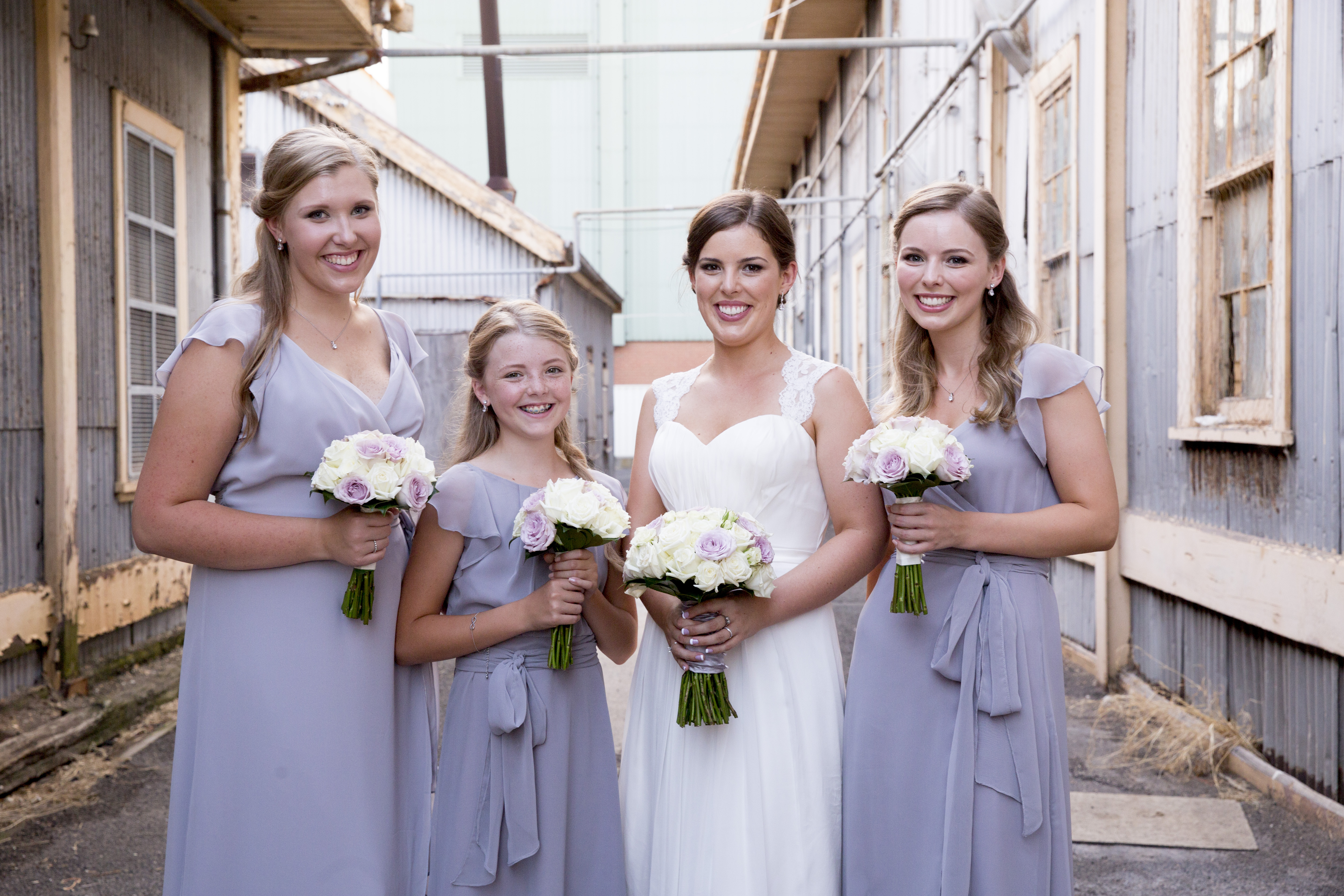 Lilac Bridal Party