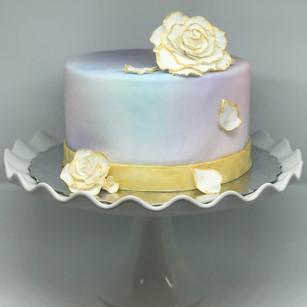 Falling Petals Cake