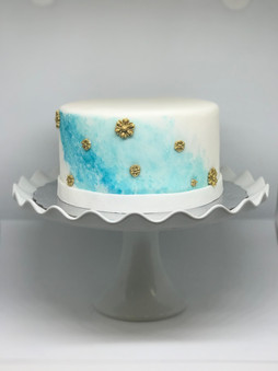 Water Colour Cake