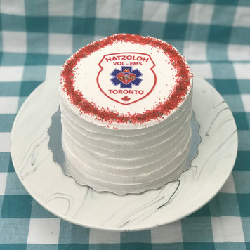 Custom Hatzoloh Cake