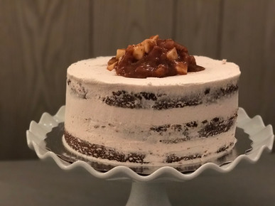 Southern Apple Bourbon Cake