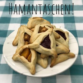 Hamantaschen for Purim