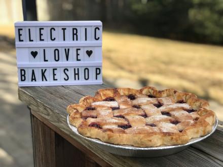 Dark Cherry Pie with Lattice Crust