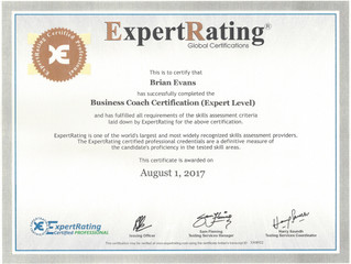 Certified Business Coaching