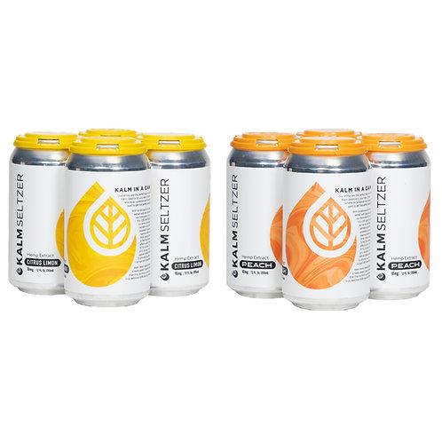 Citrus Limon & Peach CBD Seltzer Mix Pack
