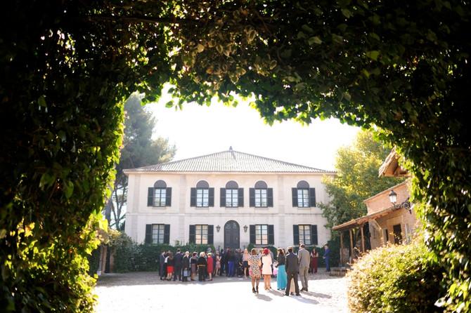Boda en el Palacio de Negralejo, Madrid
