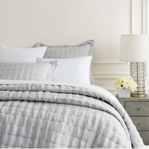 Brussels Grey Quilt - King