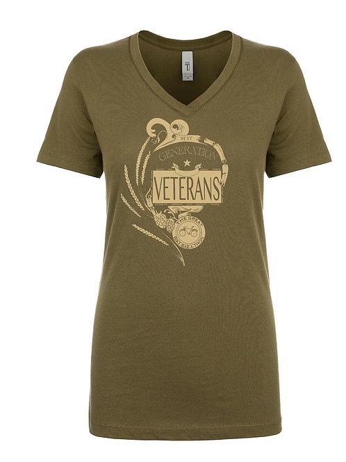 Veterans Crew V-Neck (Women)