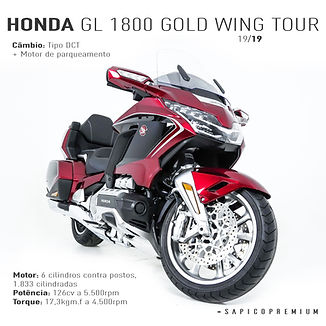 Honda GL 1800 Gold Wing Tour 1 - FGX2D33