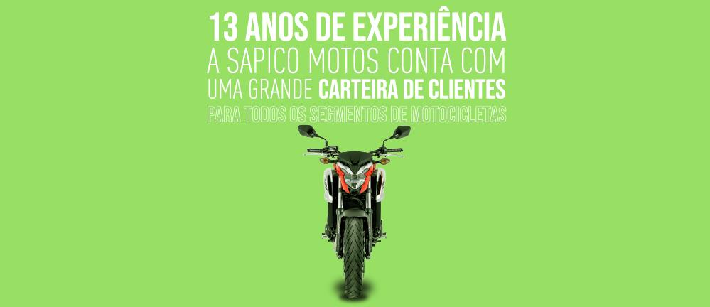 13 anos de experiencia! sapico motos