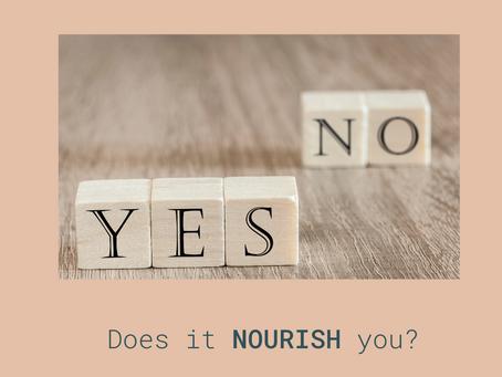 We Gotta Nourish to Flourish...