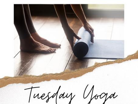 New Year + New Moon +  Yoga Tuesdays