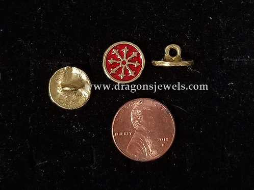 Æthelmearc Cuff Buttons - Small