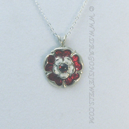 Gemmed Tudor Rose