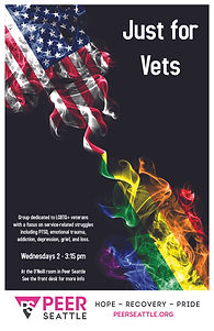 Just for Vets Poster