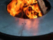 feuerschale ringryll 80 grill with fire