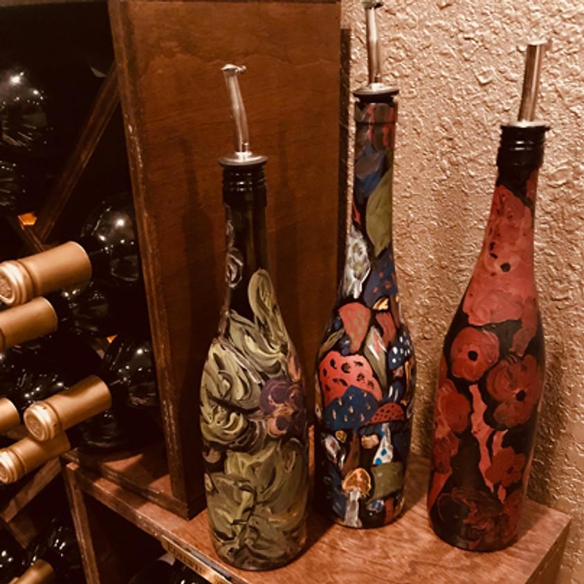 Wine Bottle Painting Class
