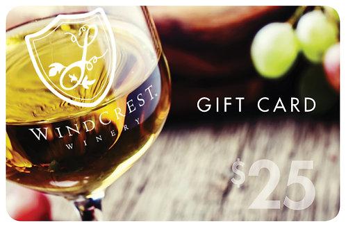WindCrest Gift Card