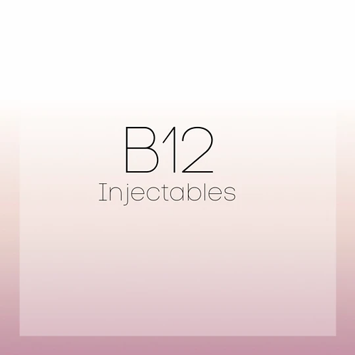 B12 INJECTABLE ( ONLINE COURSE )