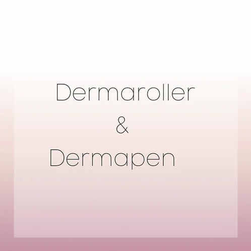 DERMA ROLLER / PEN COURSE
