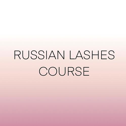 ELITE RUSSIAN LASH MASTERCLASS