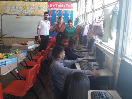 Donación de Tecnologías de la Información y Comunicación en Pro de la calidad educativa y el Monitor