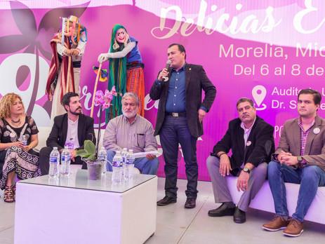 Se inaugura el Festival Internacional de la Orquídea, quien en su octava edición cuenta como invitad