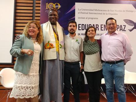 Educar para la Paz, un llamado de Jean Louis Bingna, Dr. Principe Bantú