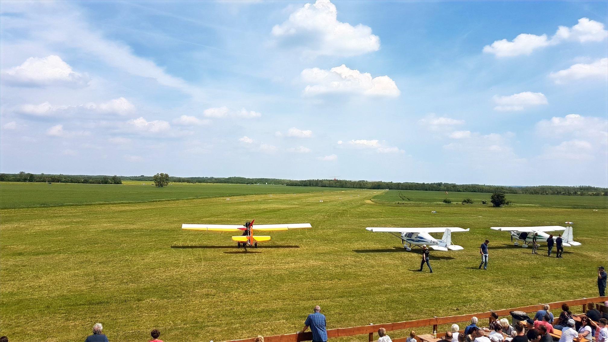Flugplatzfest in Böhlen