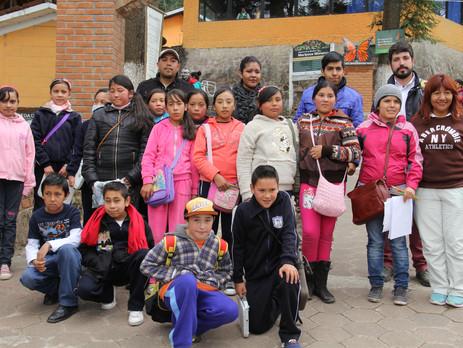 """Grupo de monitoreo """"Adopta un amigo monarca"""", Santuario el Rosario, Mpio. Ocampo, Mich. 16"""