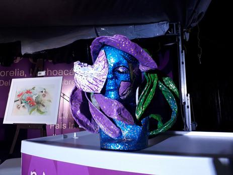 Galardonados en la octava edición del Festival Internacional de la Orquídea.