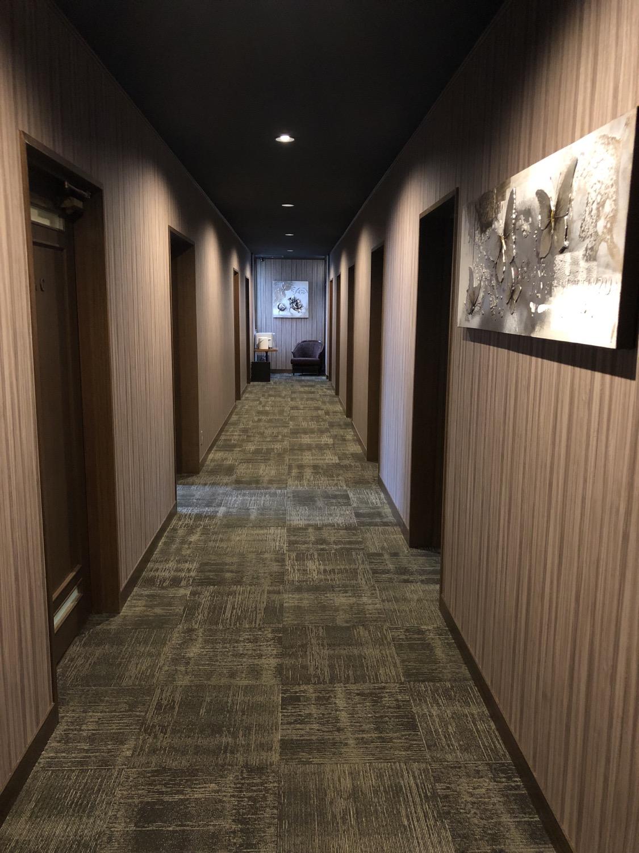 レンタルオフィス廊下