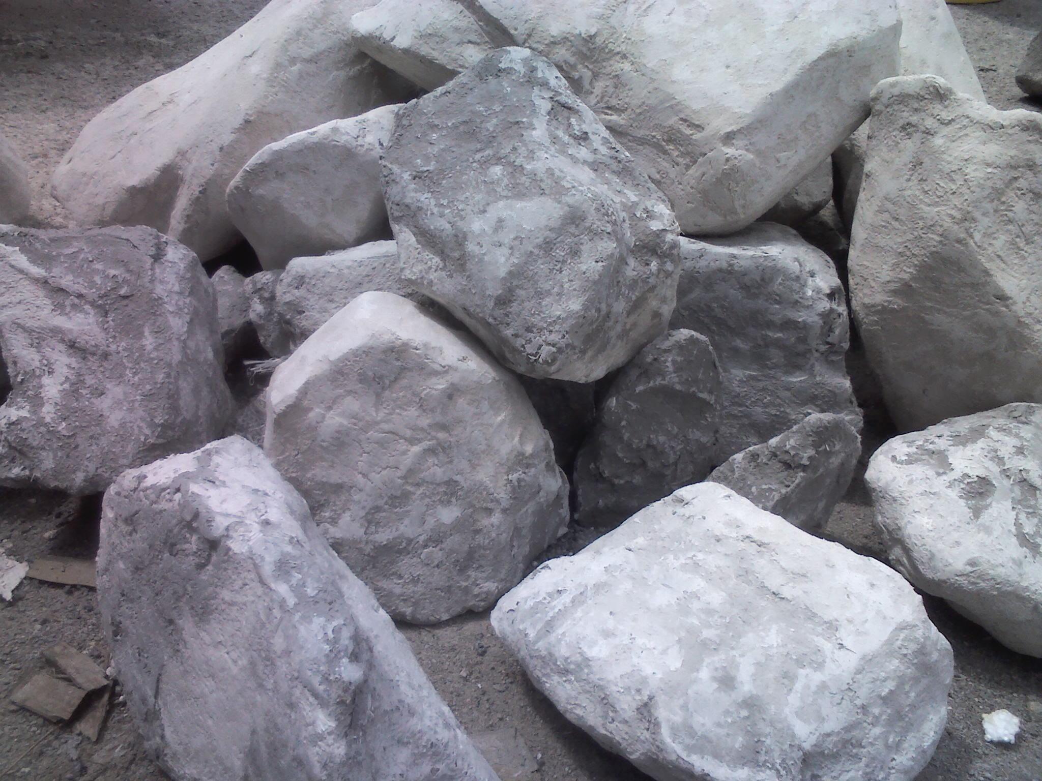 Steinschlag!