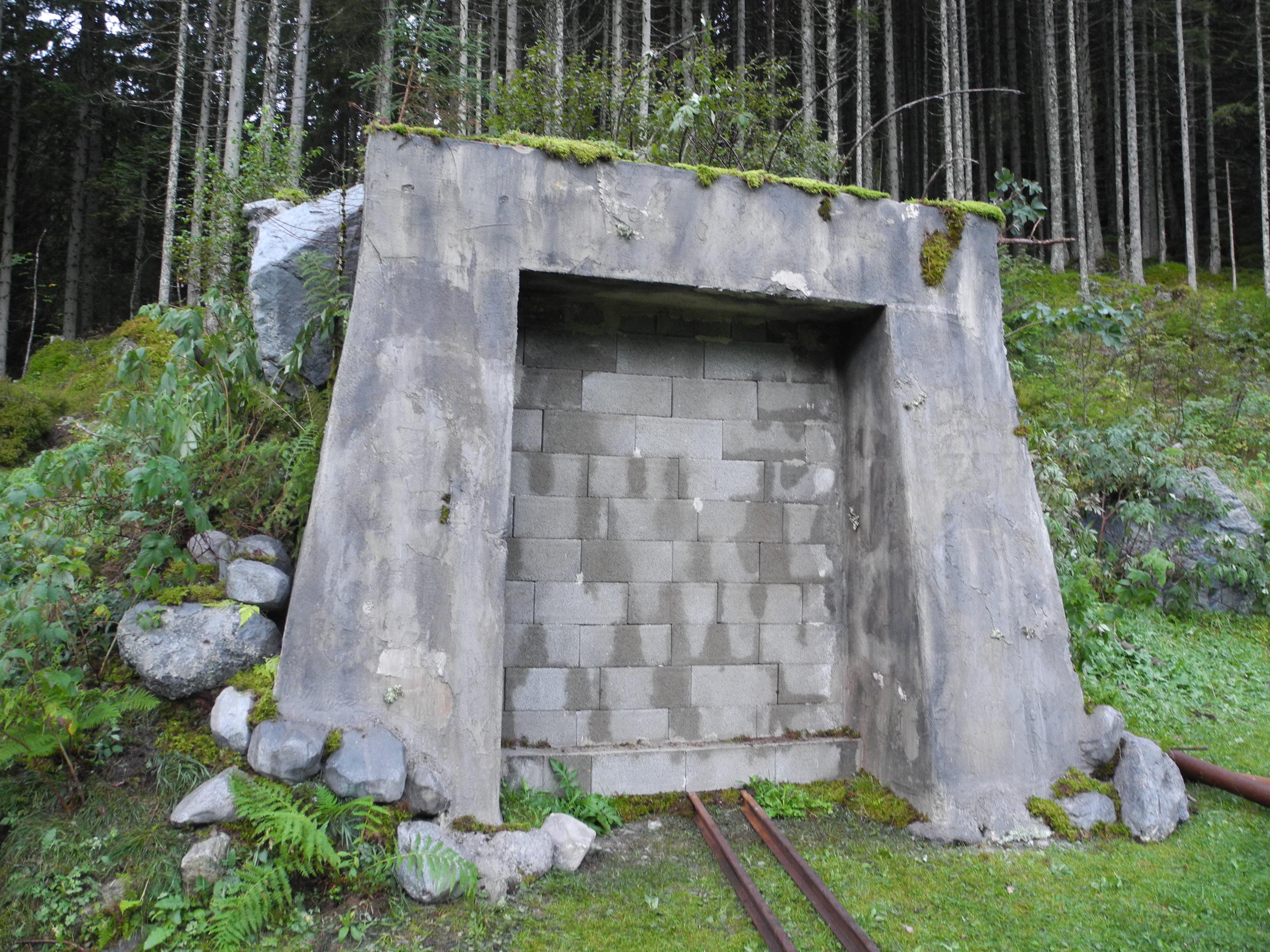 Bergretter fake Bunker