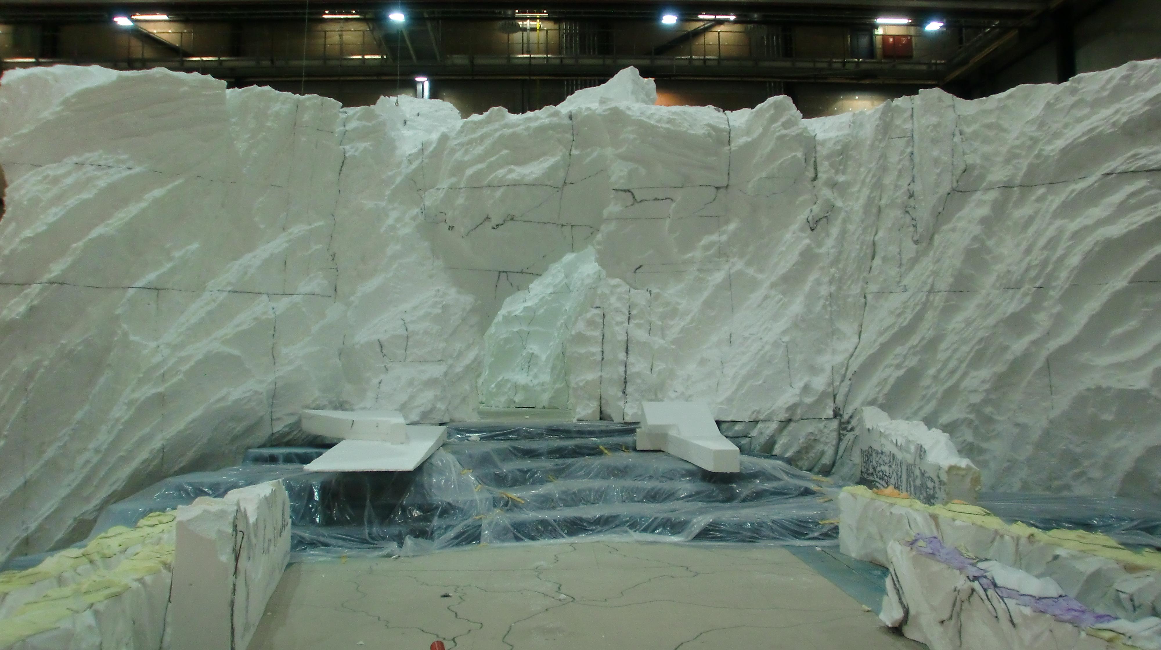 Wicki Eislandschaft