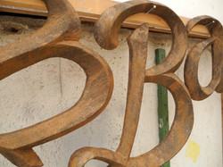 rusty Letters