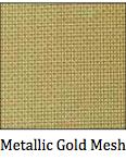 Metallic Gold Mesh