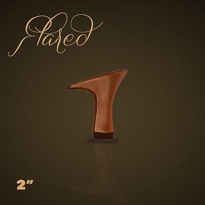 """2"""" Flared Heel"""