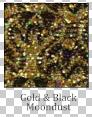 Gold & Black Moondust