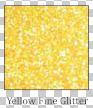 Yellow Fine Glitter