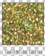 Gold Multi Fine Glitter