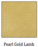 Pearl Gold Lambskin