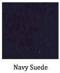 Navy Suede