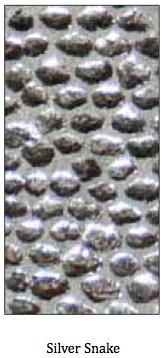 Metallic Silver Snake