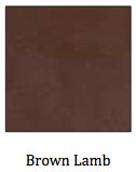 Brown Lambskin