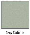 Gray Kidskin
